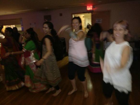Navratri Dancing